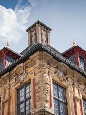 façade d'une maison à lille